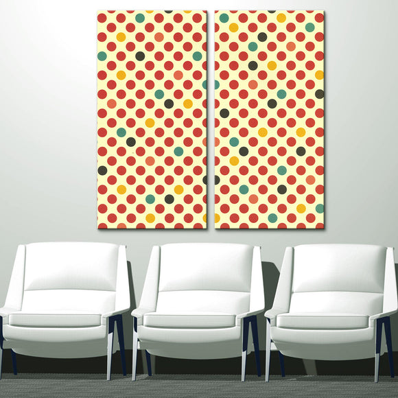 'Geometric Study V' 40x40-inch Canvas Wall Art (2-PC Set)