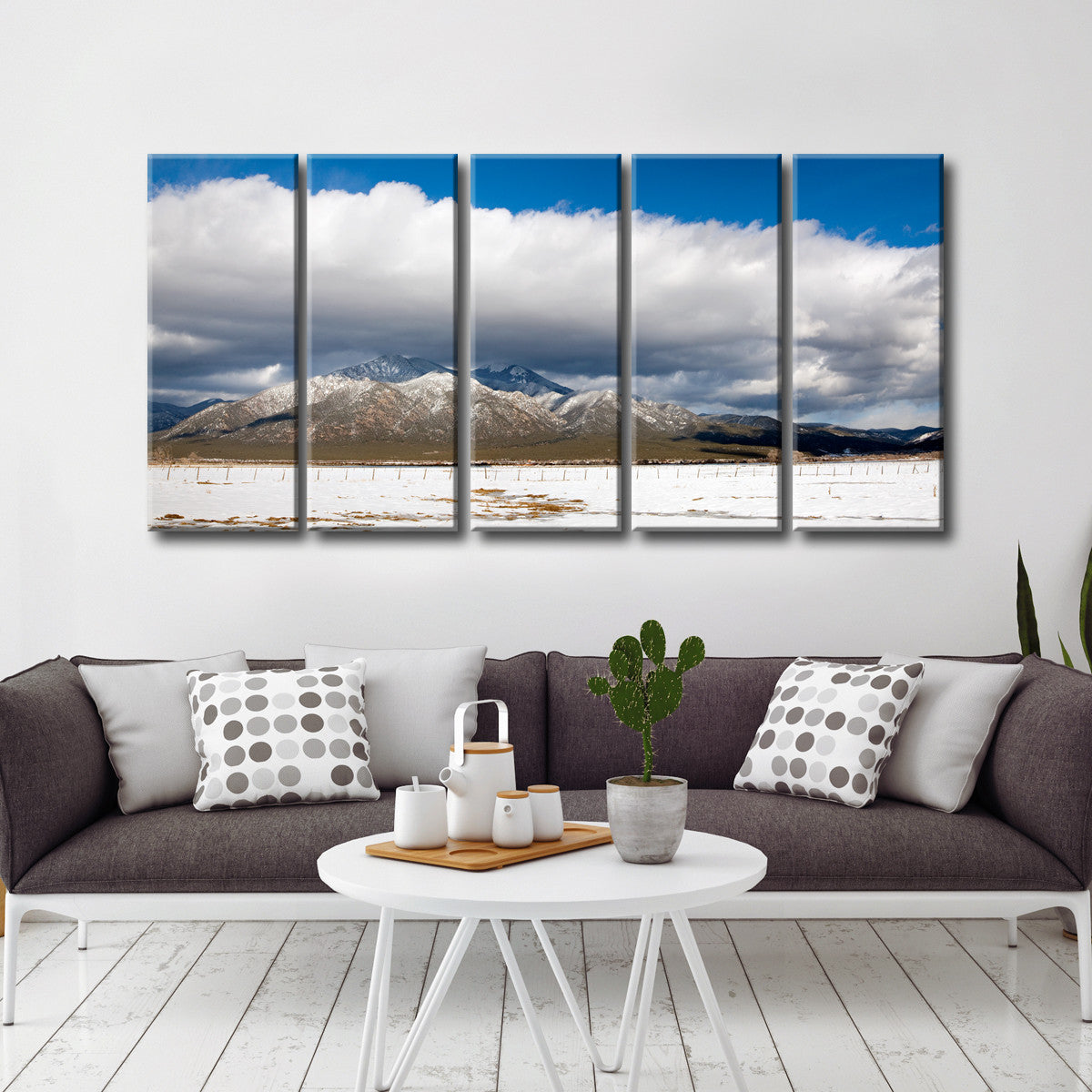 Ready2HangArt™ 'Taos Mountain Cloud' by Bartlett Hayes Canvas Art Set
