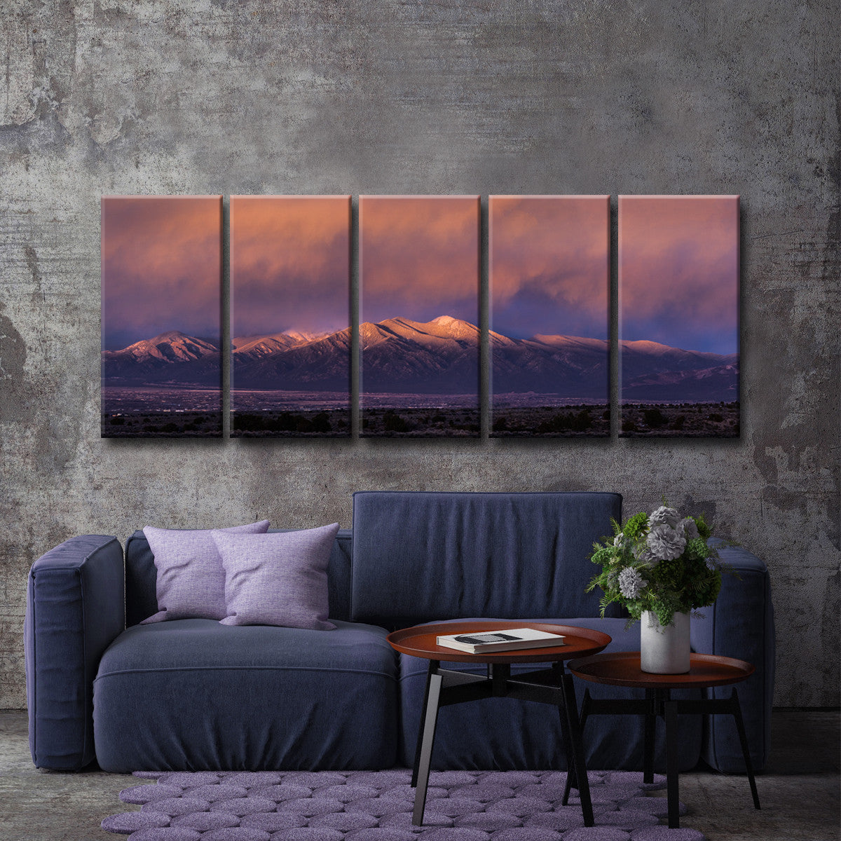 Ready2HangArt™ 'Taos Mountain 1591' by Bartlett Hayes Canvas Art Set