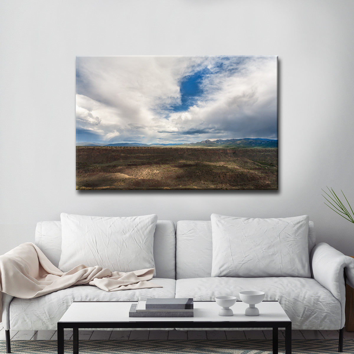 Ready2HangArt™ 'Across the Gorge ' by Bartlett Hayes Canvas Art