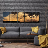 Ready2HangArt™ 'Sunset Clouds' by Bartlett Hayes Canvas Art Set