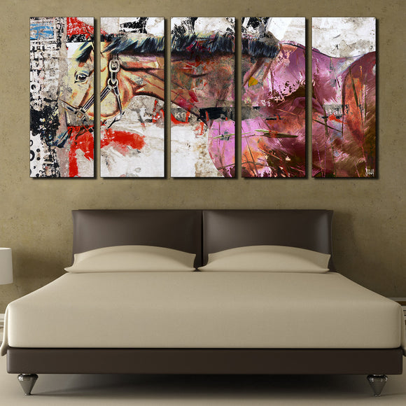 Ready2HangArt 'Equestrian Saddle Ink I' Canvas Wall Art