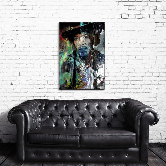 Ready2HangArt 'Jimmy Hendrix' Acrylic Wall Art