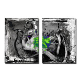Ready2HangArt 'Inkd XIV' Canvas Art