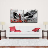 Ready2HangArt 'Inkd XVII' Canvas Art