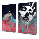 Ready2HangArt 'Inkd XXII' Canvas Art