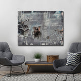 Ready2HangArt 'Inkd II' Canvas Art