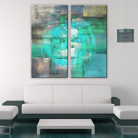 Ready2HangArt 'Inkd XXXIII' Canvas Art