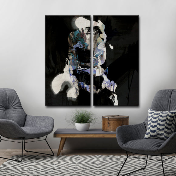 Ready2HangArt 'Inkd XXXV' Canvas Art