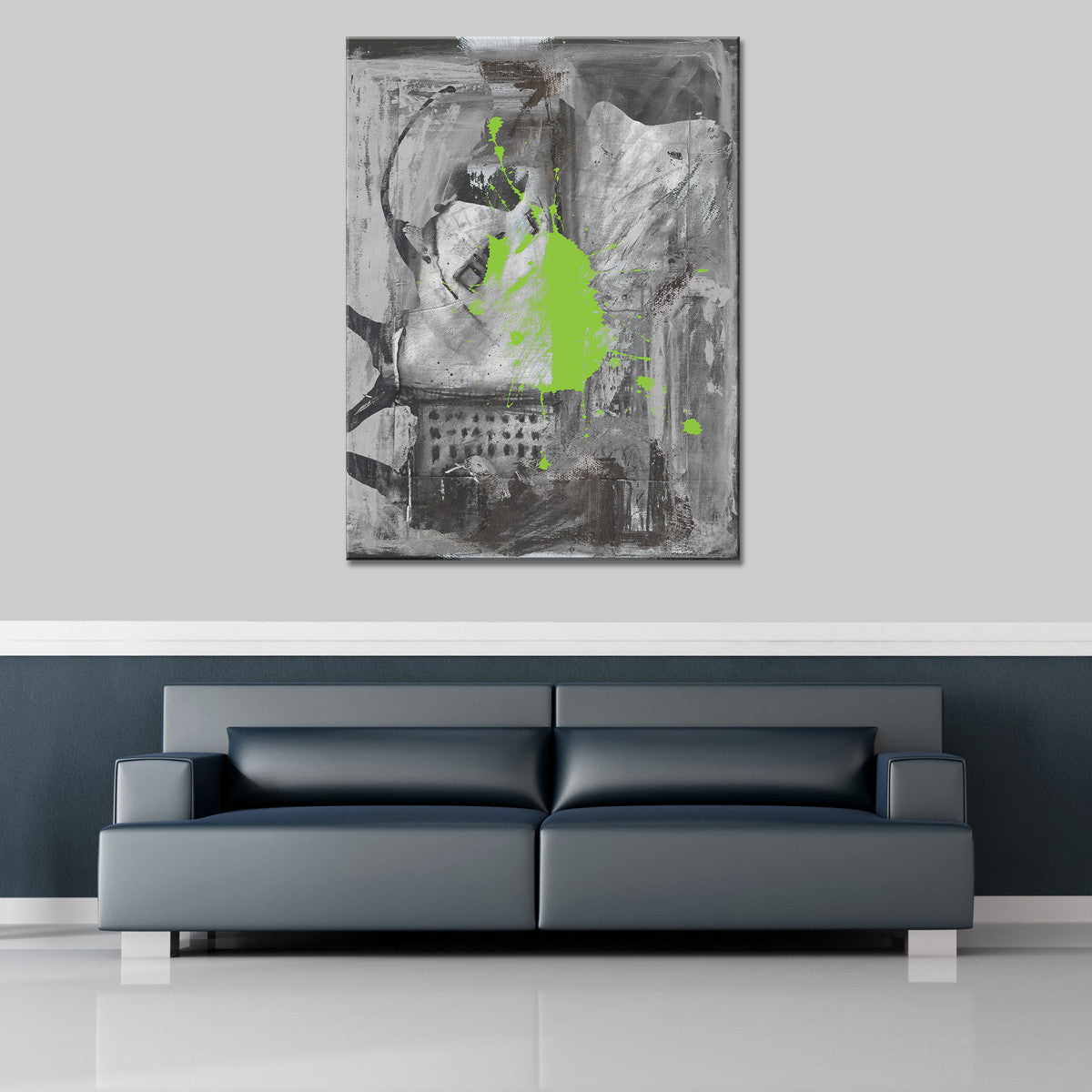 Ready2HangArt 'Inkd IV' Canvas Art