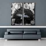 Ready2HangArt 'Inkd V' Canvas Art