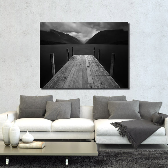 Ready2HangArt Indoor/Outdoor Wall Décor 'The Lake' in ArtPlexi