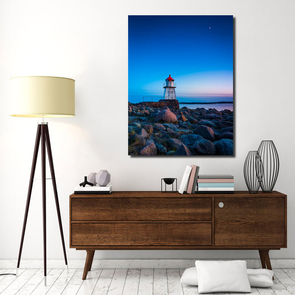 Ready2HangArt Indoor/Outdoor Wall Décor 'Lighthouse' in ArtPlexi