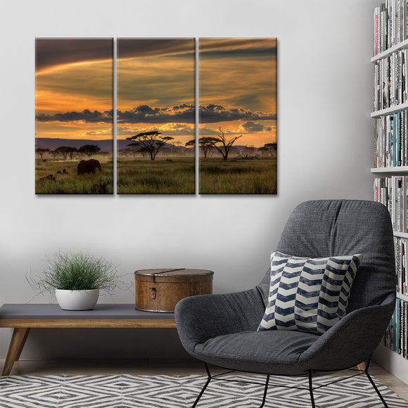 Ready2HangArt 'Africa' Canvas Wall Décor Set