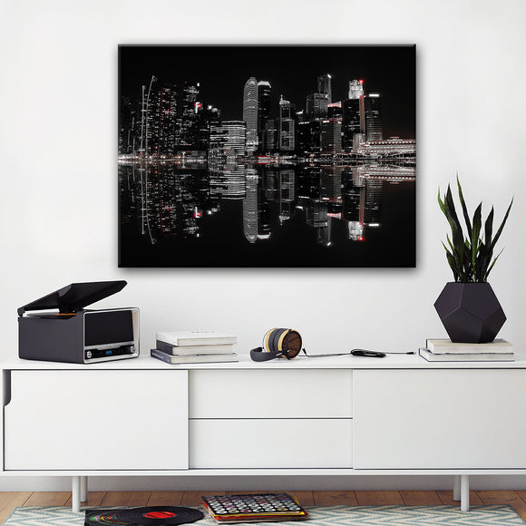 Ready2HangArt 'Night in the City' Canvas Wall Décor