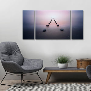 Ready2HangArt 'Alone in the Silence' Canvas Wall Décor Set