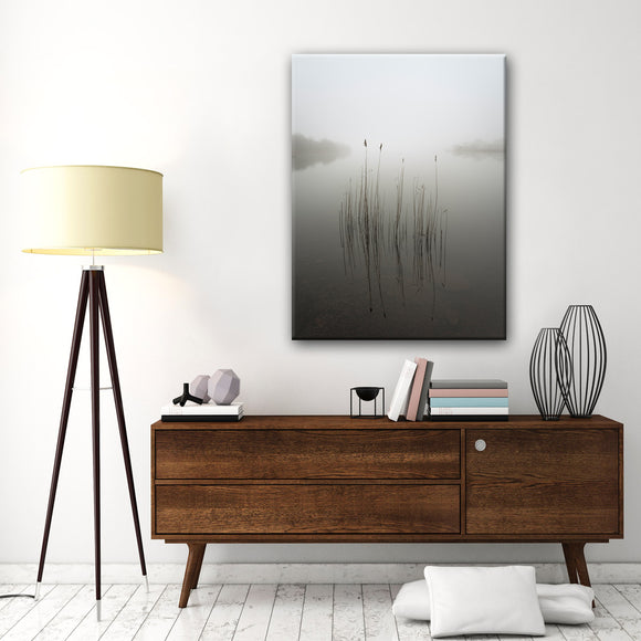 Ready2HangArt 'Reeds in the Mist' Canvas Wall Décor