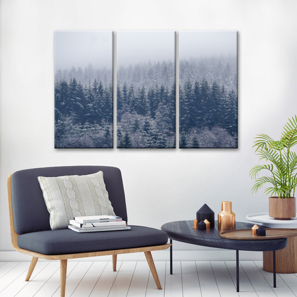 Ready2HangArt 'Frozen Trees' Canvas Wall Décor Set