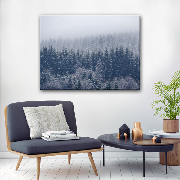 Ready2HangArt 'Frozen Trees' Canvas Wall Décor