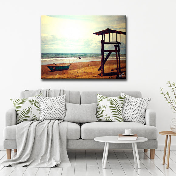 Ready2HangArt 'Blind To You' Canvas Art Print
