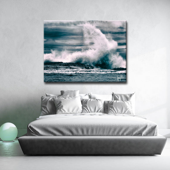Ready2HangArt 'Capsizing The Sea' Canvas Art Print