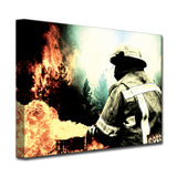 Ready2HangArt 'Fire and Rain' Canvas Art Print