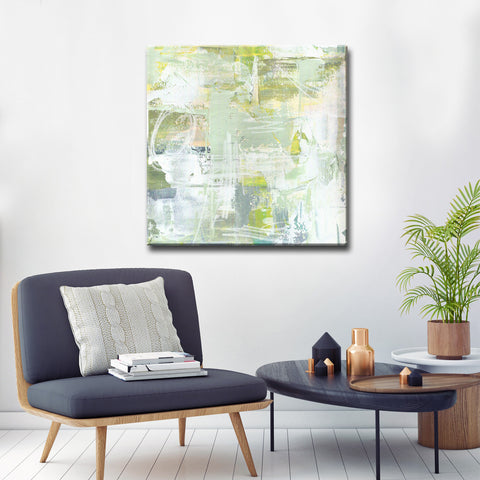 Max+E 'Lilly Pads & Moss' Canvas Art Print