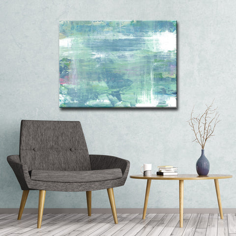 Max+E 'Koi Pond Refections' Canvas Art Print
