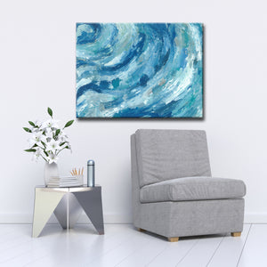 Max+E 'Evening Ocean Swells' Canvas Art Print
