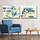 Max+E 'Sun & Shade' 2-Piece Canvas Art Set