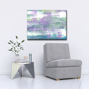 Max+E 'Lavender Calm Morning' Canvas Art Print
