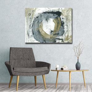 'Eternal Society' Wrapped Canvas Abstract Wall Art