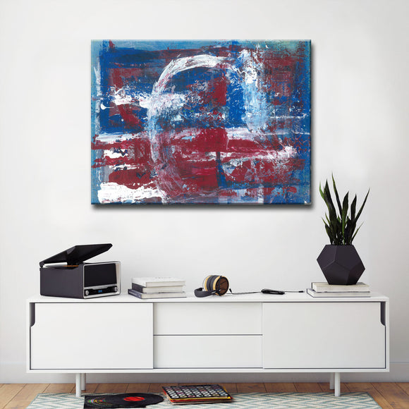 Max+E 'Americana Blues' Canvas Art Print