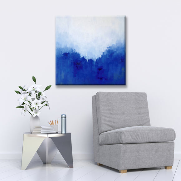 Ready2HangArt 'Blue Perspective' Canvas Wall Décor by Max+E