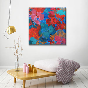 Ready2HangArt 'Flowers in the Pool' Canvas Wall Décor by Max+E