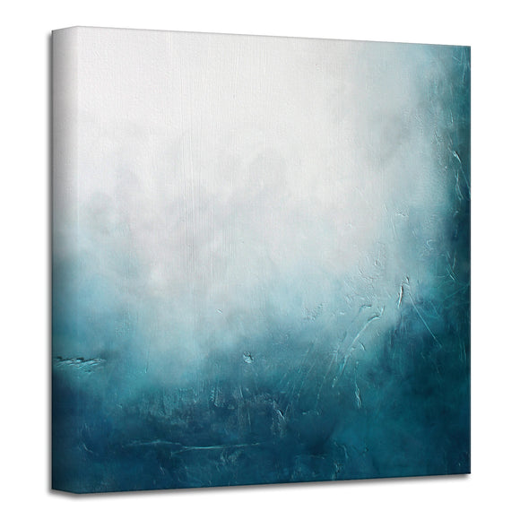 'Cloudy Dream' Wrapped Canvas Art