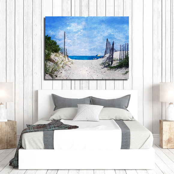 Ready2HangArt Indoor/Outdoor Wall Décor 'Beach Days' in ArtPlexi by NXN Designs