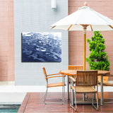 Ready2HangArt Indoor/Outdoor Wall Décor 'Blue Tranquility VIII' in ArtPlexi by NXN Designs