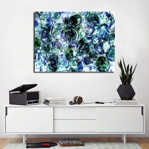 Ready2HangArt Indoor/Outdoor Wall Décor 'Color Clusters' in ArtPlexi by NXN Designs