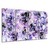 Ready2HangArt Indoor/Outdoor 4 Piece Wall Art Set 'Color Clusters III' in ArtPlexi