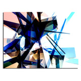 Ready2HangArt Indoor/Outdoor Wall Décor 'Vibrant Geo' in ArtPlexi by NXN Designs