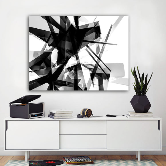 Ready2HangArt Indoor/Outdoor Wall Décor 'Vibrant Geo V' in ArtPlexi by NXN Designs