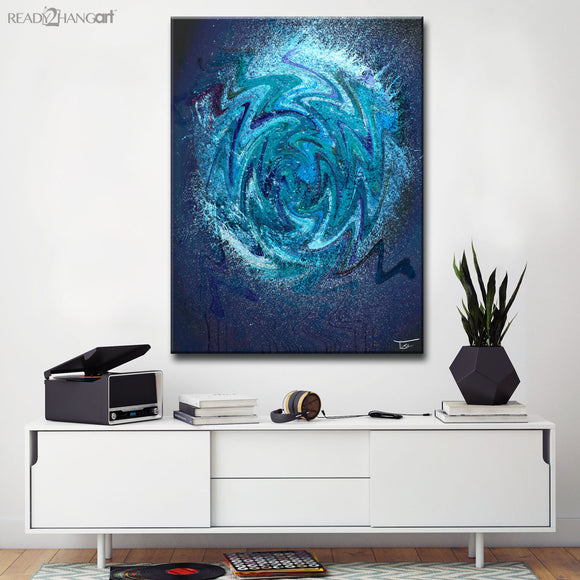 Ready2HangArt™ 'Aqueous Trance XI' by Tristan Scott Canvas Art