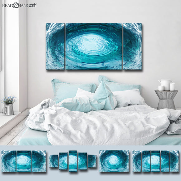 Ready2HangArt™ 'Aqueous Trance XXIX' by Tristan Scott Canvas Art Set