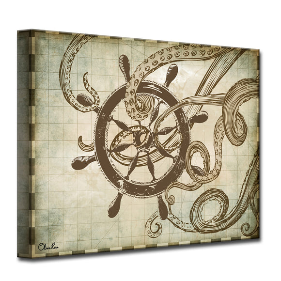Sea Ships'  Canvas Art
