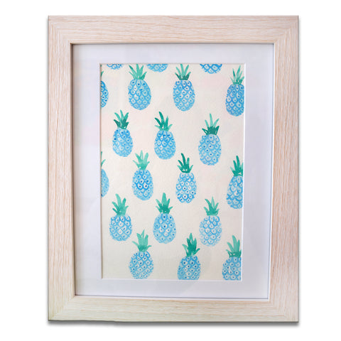 Blue Pineapples, by Melissa Rinaldi