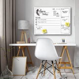 R2H Methods 'It Happens Today' Dry Erase Daily Planner on ArtPlexi