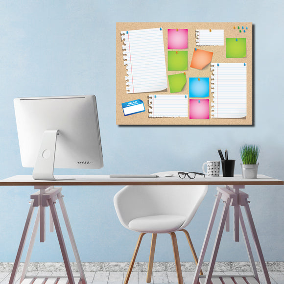 R2H Methods 'Cork Board' Dry Erase Memo Board on ArtPlexi