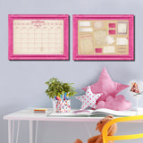 R2H Methods 'Prettiest in Pink' Dry Erase Planner & Calendar Set on ArtPlexi