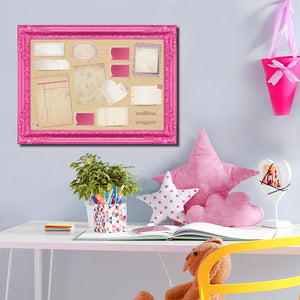 R2H Methods 'Pretty in Pink' Dry Erase Memo Board on ArtPlexi